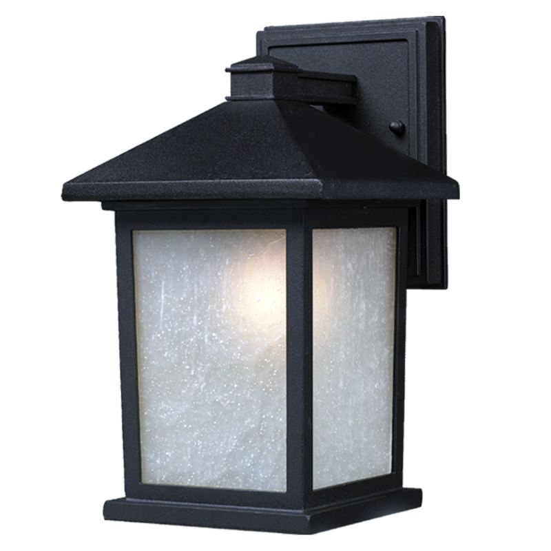 Z-Lite 507B Holbrook 1 Light Outdoor Wall Sconce with White Seedy