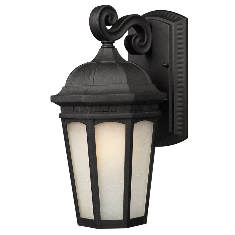 Z-Lite 508M Newport 1 Light Outdoor Wall Sconce with White Seedy Shade Sale $192.00 ITEM: bci1825120 ID#:508M-BK UPC: 685659011364 :