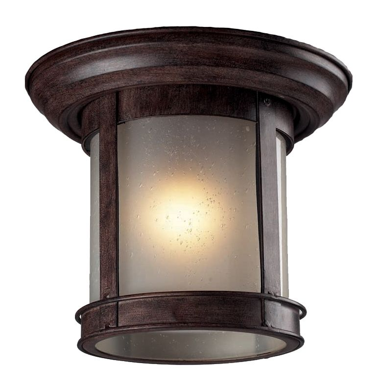 Z-Lite 514F 1 Light Outdoor Flushmount Ceiling Fixture with Clear Sale $90.00 ITEM: bci2059167 ID#:514F-WB UPC: 685659011876 :