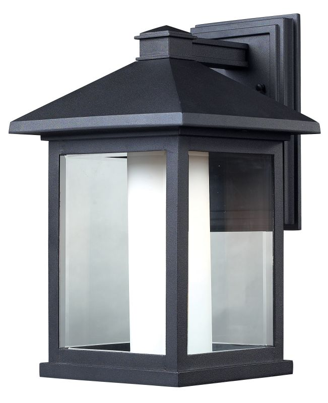 Z-Lite 523B Mesa 1 Light Outdoor Wall Sconce with Clear Beveled and Sale $286.00 ITEM: bci1825378 ID#:523B UPC: 685659012095 :