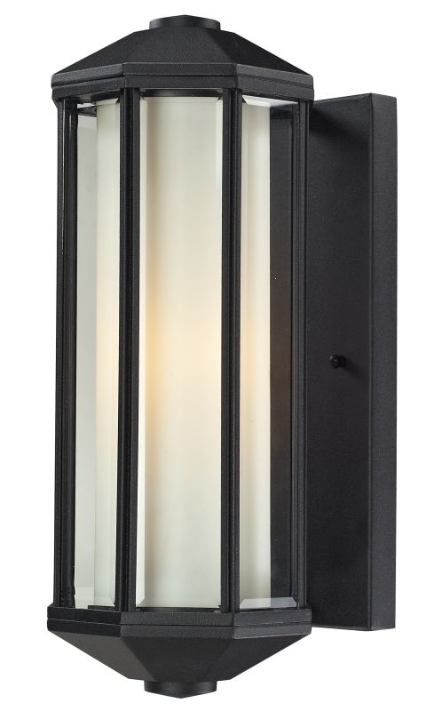 Z-Lite 525 Cylex 1 Light Outdoor Wall Sconce with Matte Opal Shade Sale $286.00 ITEM: bci2519410 ID#:525-BK UPC: 685659018370 :