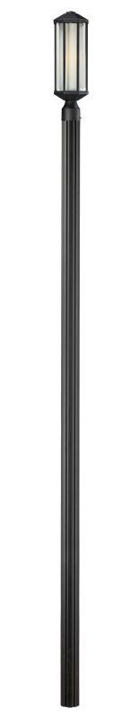 Z-Lite 525PH-520P96 Cylex 1 Light Outdoor Post Light with Matte Opal Sale $510.00 ITEM: bci2519413 ID#:525PH-520P96-BK UPC: 685659024951 :