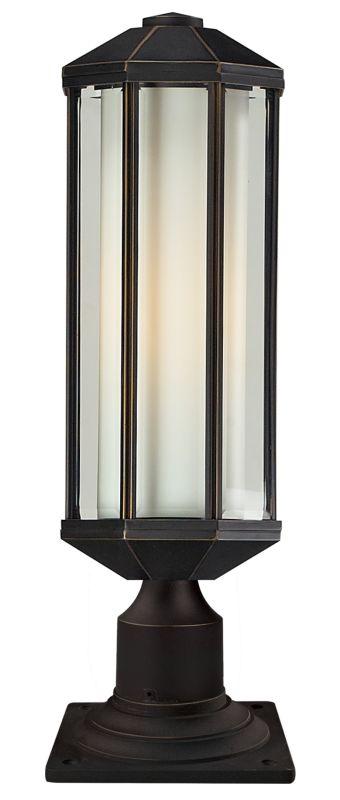 Z-Lite 526PH-533PM Cylex 1 Light Outdoor Pier Mount Light with Matte Sale $350.00 ITEM: bci2519419 ID#:526PH-533PM-ORB UPC: 685659018448 :
