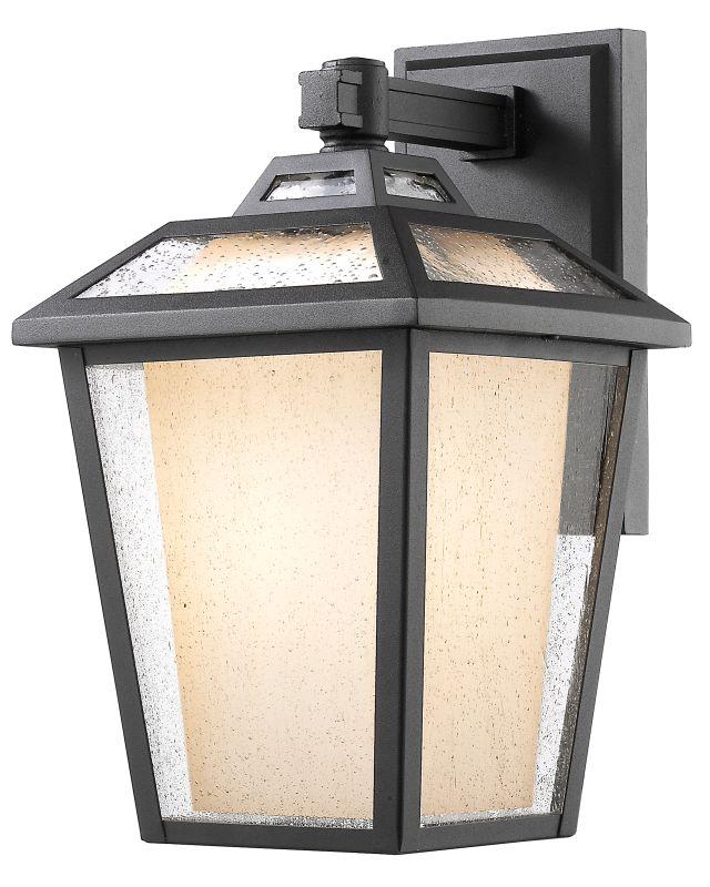 Z-Lite 532B Memphis 1 Light Outdoor Wall Sconce Black Outdoor Lighting Sale $538.00 ITEM: bci2614127 ID#:532B-BK UPC: 685659045246 :