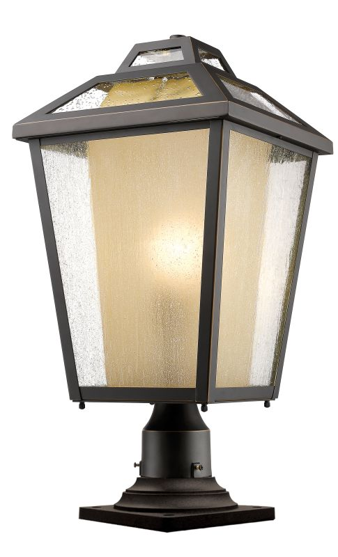 Z-Lite 532PHBR-533PM Memphis 1 Light Outdoor Pier Mount Light Oil Sale $476.00 ITEM: bci2614138 ID#:532PHBR-533PM-ORB UPC: 685659047905 :
