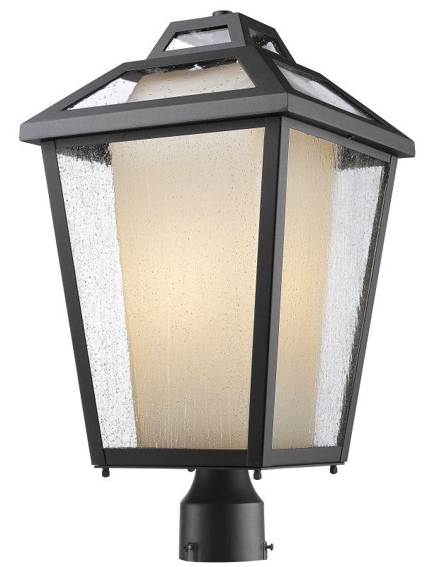 Z-Lite 532PHBR Memphis 1 Light Outdoor Post Light Black Outdoor Sale $426.00 ITEM: bci2614139 ID#:532PHBR-BK UPC: 685659045321 :