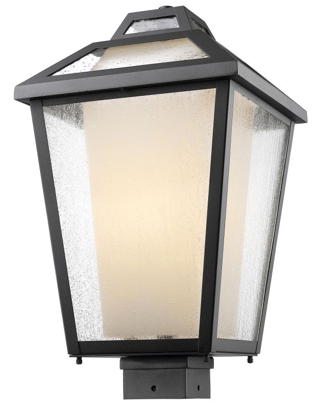 Z-Lite 532PHBS Memphis 1 Light Outdoor Post Light Black Outdoor Sale $434.00 ITEM: bci2614143 ID#:532PHBS-BK UPC: 685659045369 :