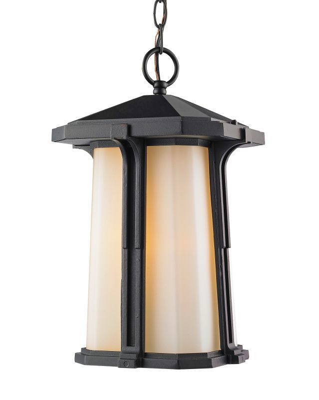 Z-Lite 542CHM Harbor Lane 1 Light Outdoor Pendant Black Outdoor Sale $126.00 ITEM: bci2614215 ID#:542CHM-BK UPC: 685659045895 :