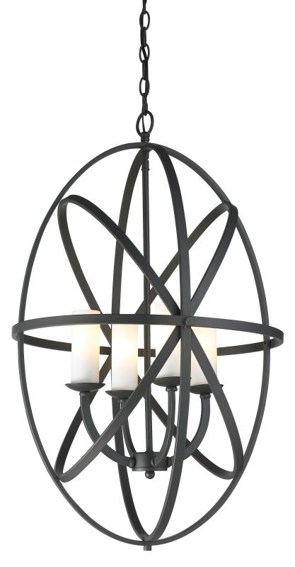 Z-Lite 6027-4L Aranya 4 Light Full Sized Pendant with Matte Opal Shade Sale $680.00 ITEM: bci2519004 ID#:6027-4L-BRZ UPC: 685659032635 :