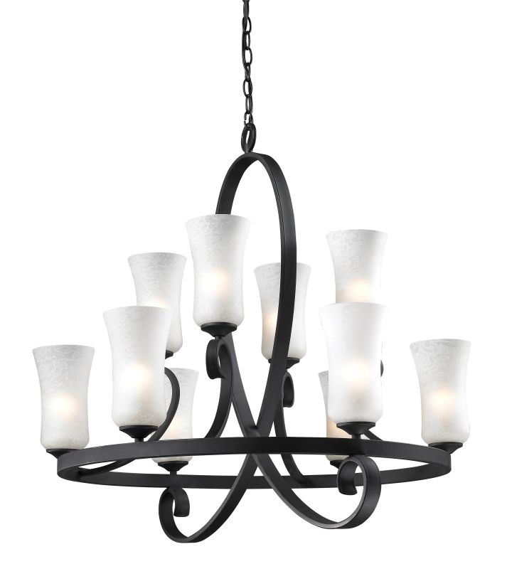 Z-Lite 603-10 Arshe 10 Light 2 Tier Chandelier with White Watermark Sale $1246.00 ITEM: bci1958212 ID#:603-10 UPC: 685659017052 :