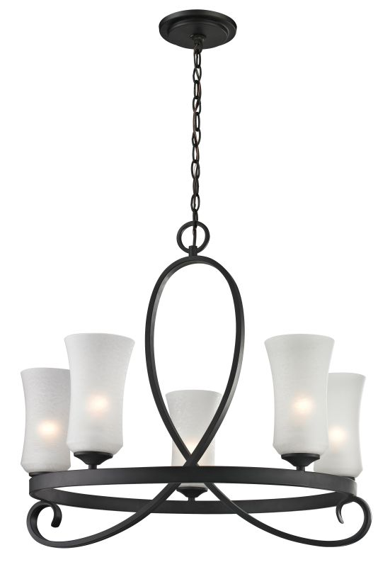 Z-Lite 603-5 Arshe 5 Light 1 Tier Chandelier with Matte Opal Shade Sale $648.00 ITEM: bci2373884 ID#:603-5 UPC: 685659027631 :