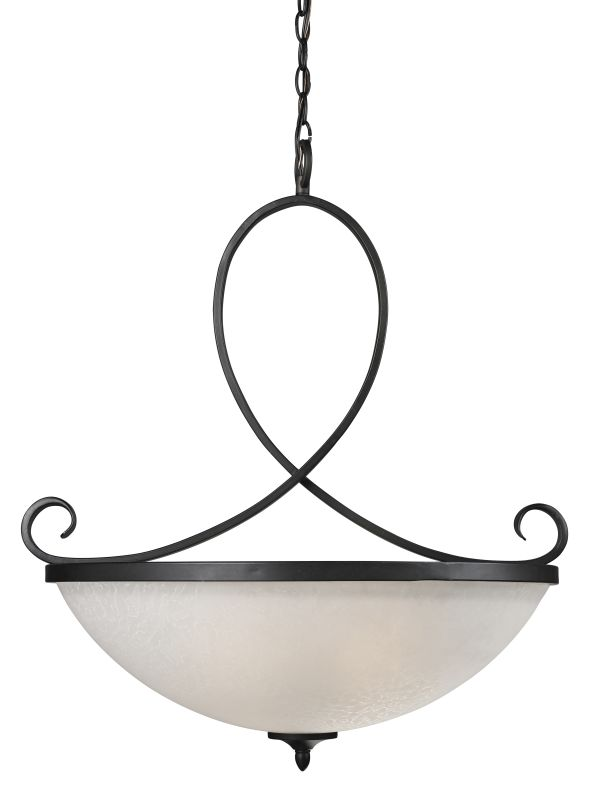 Z-Lite 603P Arshe 3 Light Bowl Shaped Pendant with White Watermark Sale $466.00 ITEM: bci1958225 ID#:603P UPC: 685659017199 :