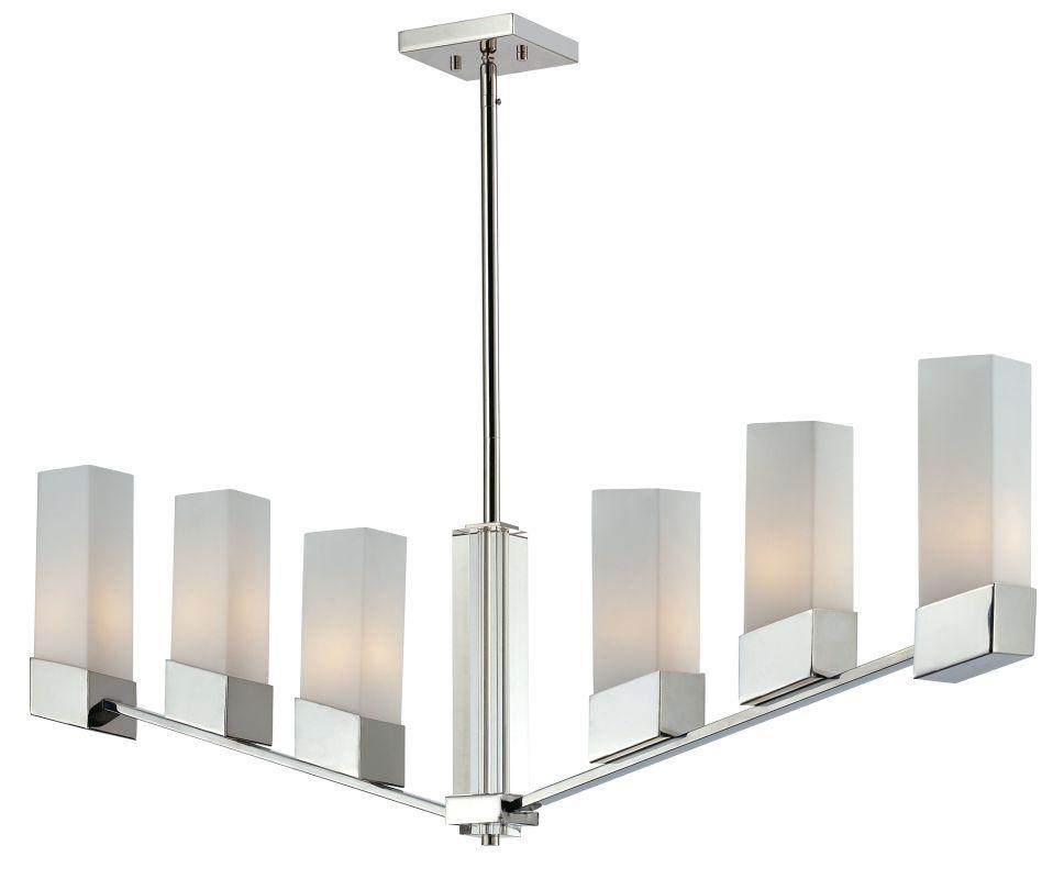 Z-Lite 607-6 Zen 6 Light Chandelier with Matte Opal glass Shade Chrome Sale $556.00 ITEM: bci2219187 ID#:607-6 UPC: 685659022735 :