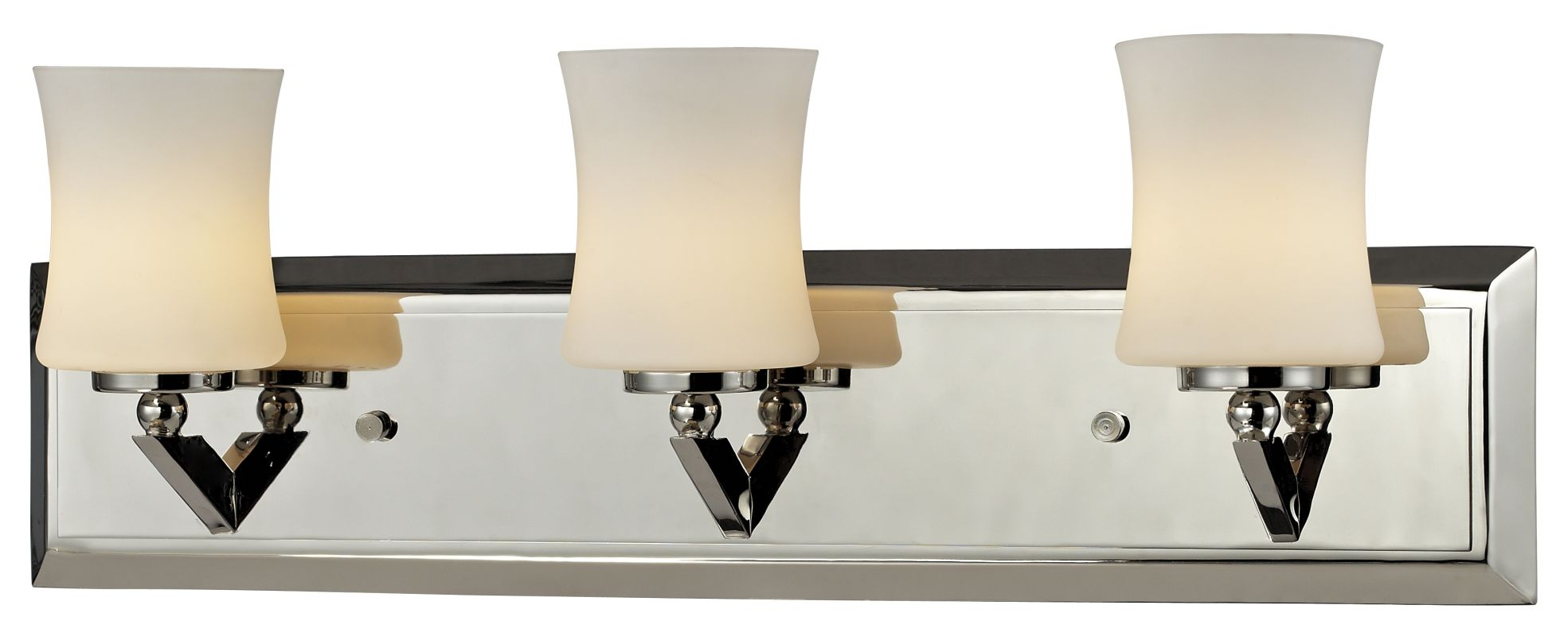 Z-Lite 608-3V Elite 3 Light Bathroom Vanity Light with Matte Opal Sale $223.00 ITEM: bci2518640 ID#:608-3V-CH UPC: 685659022438 :