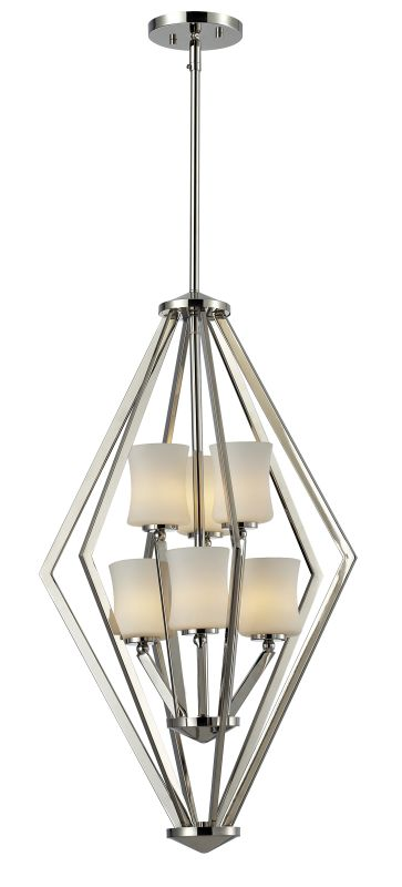 Z-Lite 608-6 Elite 6 Light Full Sized Pendant with Matte Opal Shade Sale $609.00 ITEM: bci2519010 ID#:608-6-CH UPC: 685659022476 :