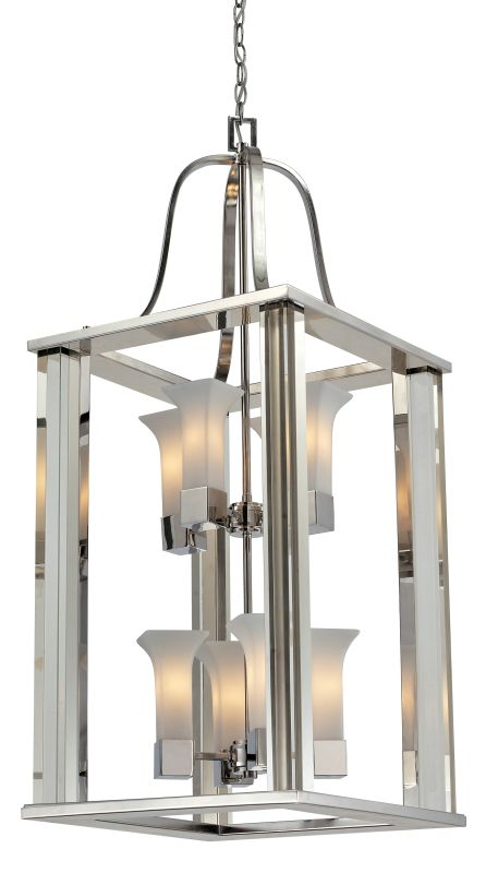 Z-Lite 611-42 Lotus 8 Light Full Sized Pendant with Matte Opal Shade Sale $2606.00 ITEM: bci2519027 ID#:611-42-CH UPC: 685659022919 :