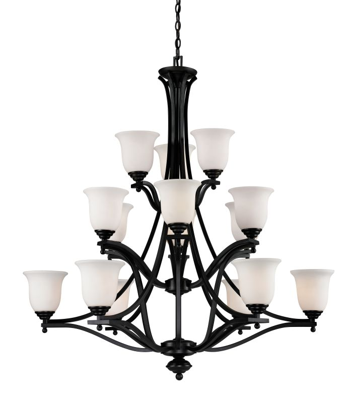 Z-Lite 702-15 Lagoon 15 Light 3 Tier Chandelier with Matte Opal Shade Sale $1170.00 ITEM: bci2519034 ID#:702-15-BRZ UPC: 685659020311 :