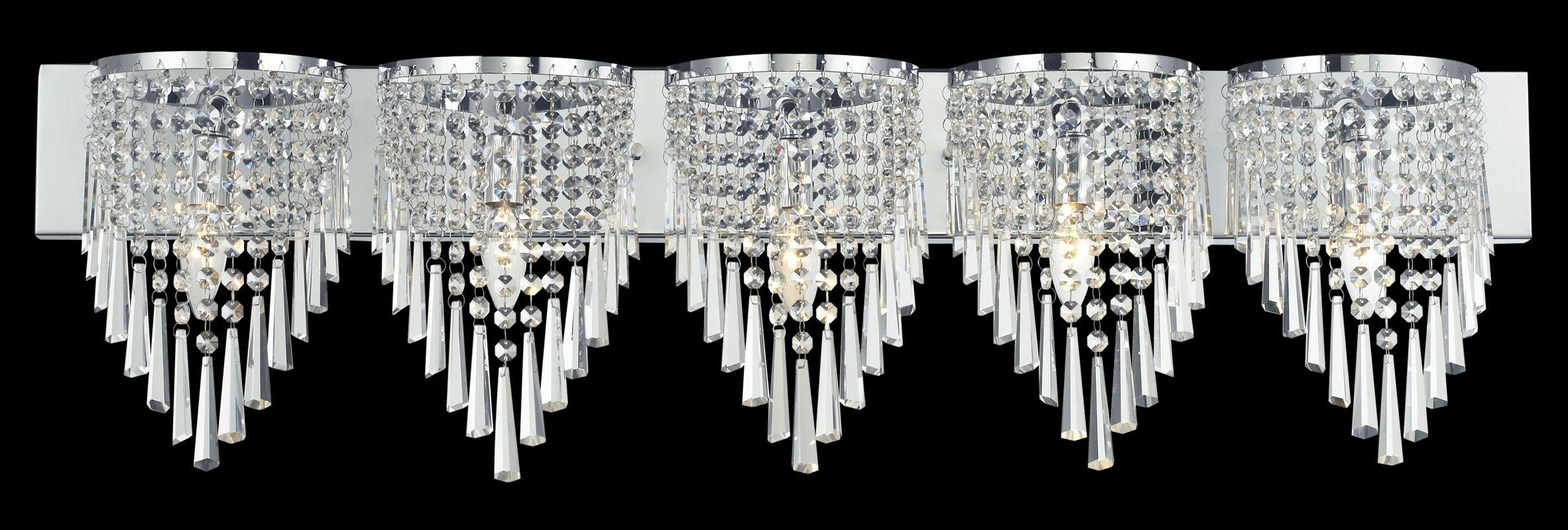 Z-Lite 868-5V Tango 5 Light Bathroom Vanity Light with Crystal Shade Sale $540.00 ITEM: bci2518700 ID#:868CH-5V UPC: 685659017922 :