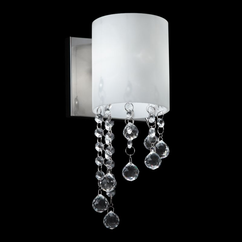 Z-Lite 871-1S Jewel 1 Light Wall Sconce with Matte Opal Glass Shade Sale $94.00 ITEM: bci2518701 ID#:871CH-1S UPC: 685659023930 :