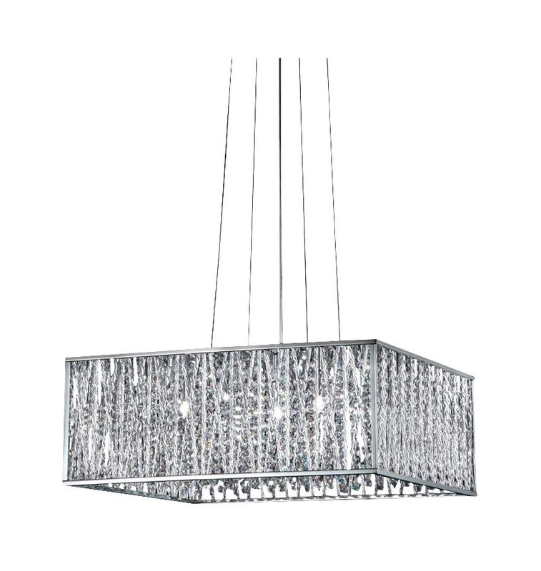 Z-Lite 872-P Terra 5 Light Full Sized Pendant with Silver Shade Chrome Sale $642.00 ITEM: bci2519106 ID#:872CH-P UPC: 685659023985 :