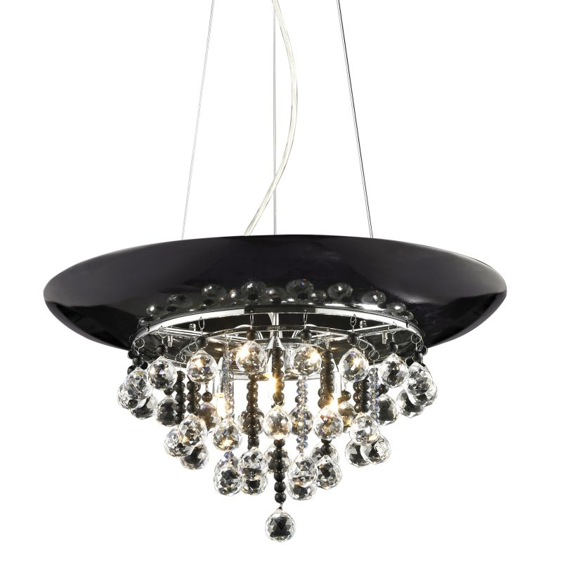 Z-Lite 881P Nines 3 Light Full Sized Pendant Chrome Indoor Lighting