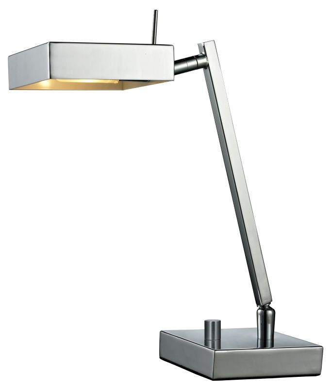 Z-Lite TL200 Ofuse Single Light Desk Lamp Chrome Lamps Table Lamps