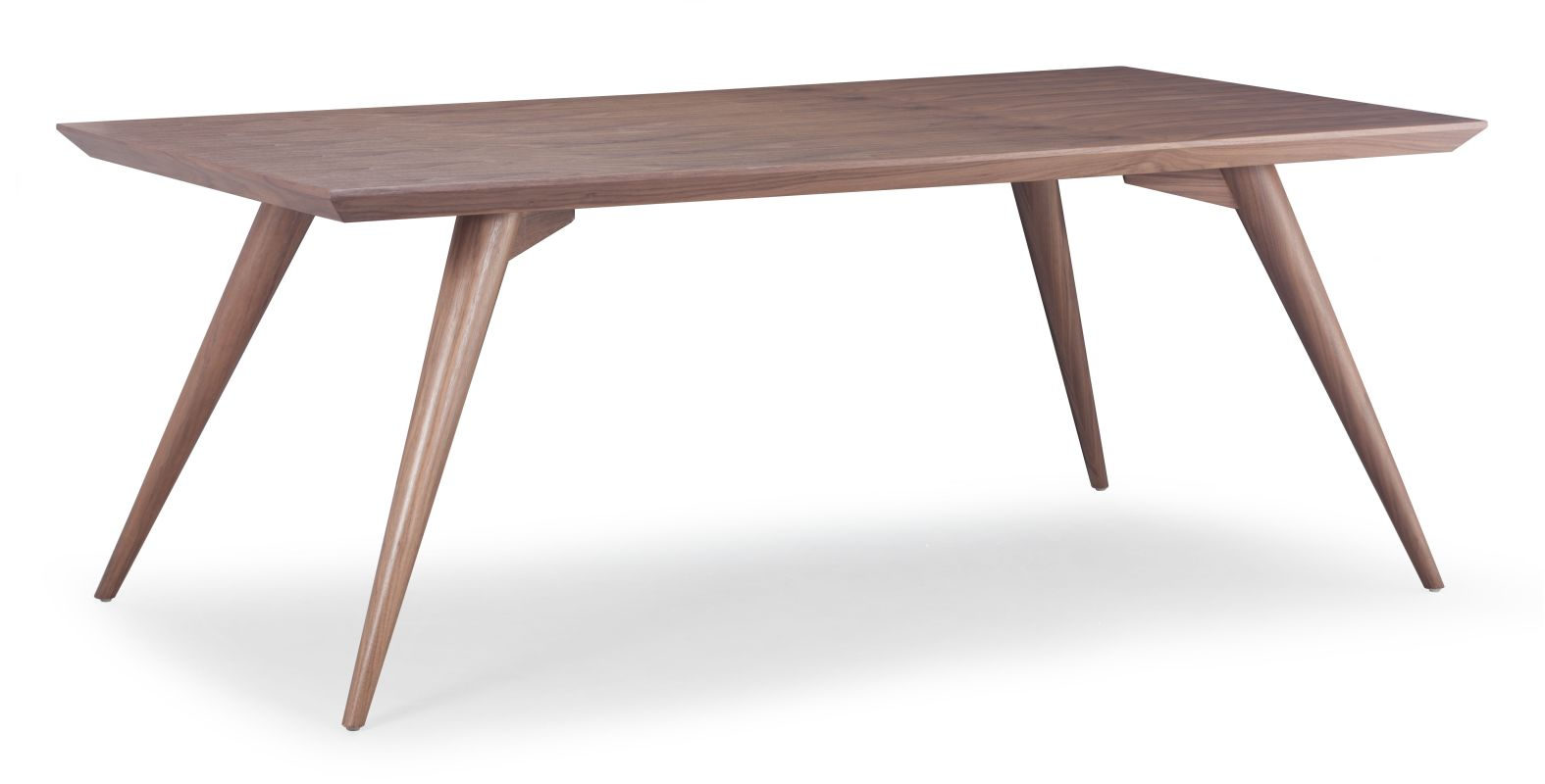 Zuo Modern Stockholm Dining Table Stockholm Dining Table Walnut