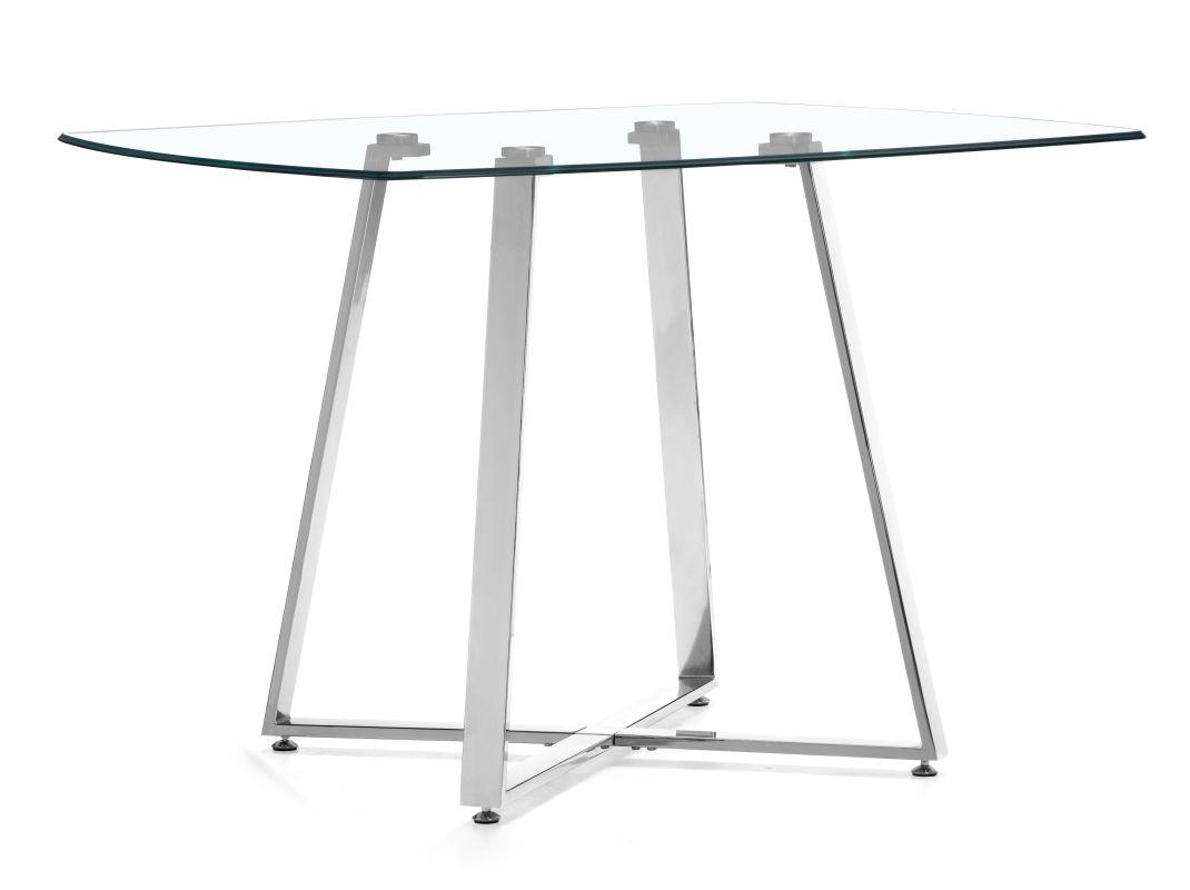 Zuo Modern Lemon Drop Dining Table Lemon Drop Dining Table Chrome