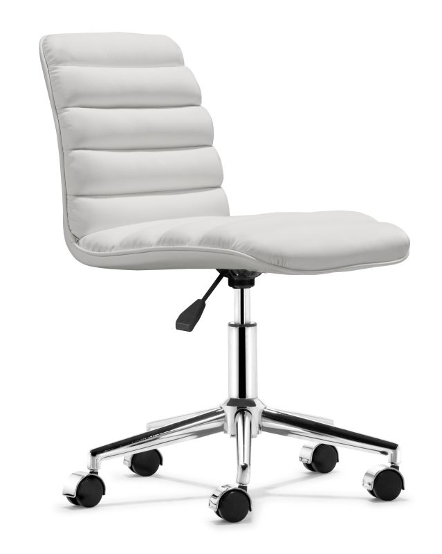 Zuo Modern Admire Office Chair Admire Office Chair White Furniture