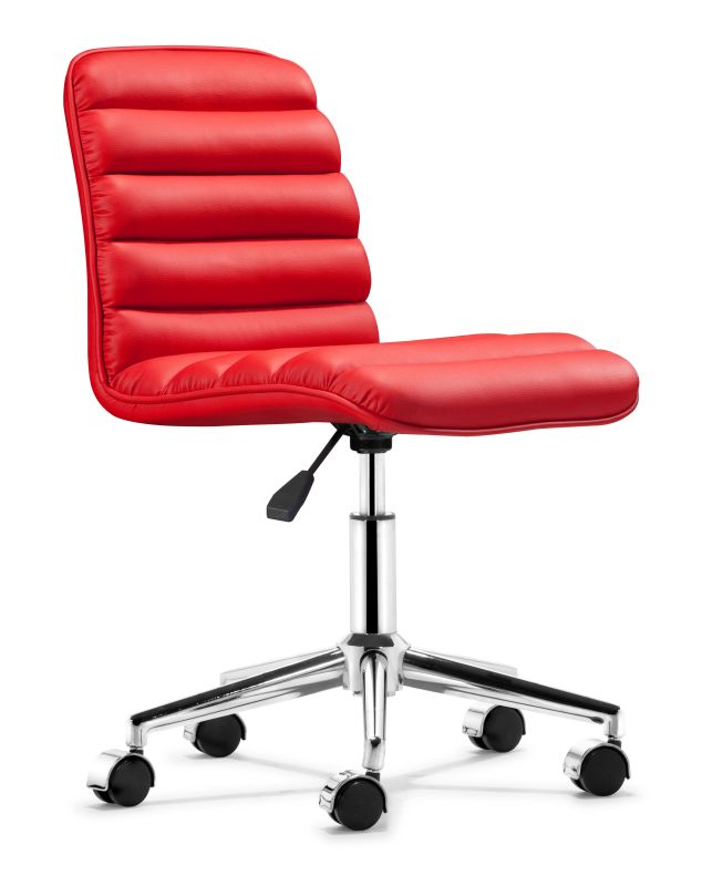 Zuo Modern Admire Office Chair Admire Office Chair Red Furniture