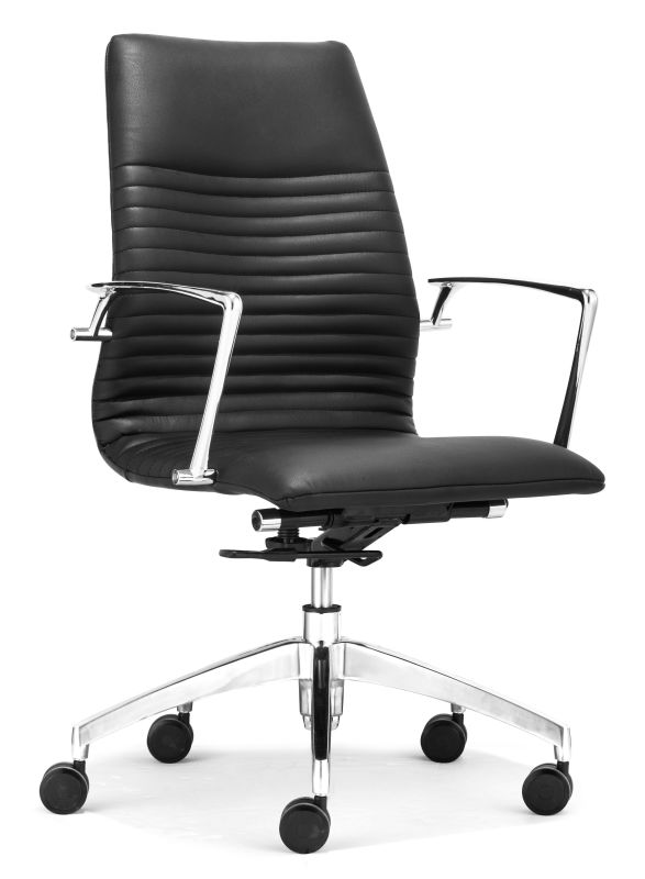 Zuo Modern Lion Low Back Office Chair Lion Low Back Office Chair Black