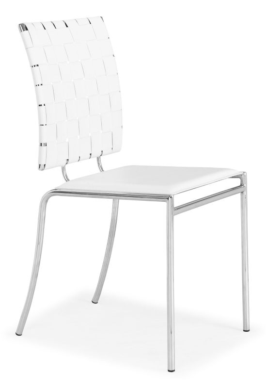 Zuo Modern Criss Cross Dining Chair Criss Cross Dining Chair (Package