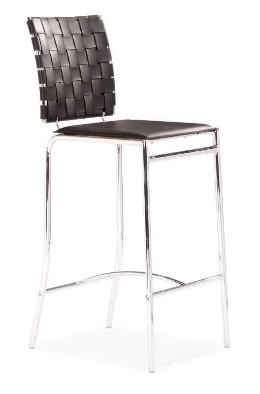 Zuo Modern Criss Cross Counter Chair Criss Cross Counter Chair
