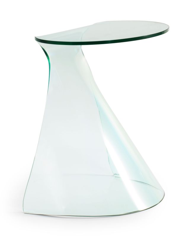 Zuo Modern Quest Side Table Quest Side Table Clear Furniture End