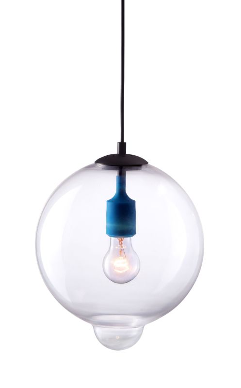 Zuo Modern Gradient Pendant Gradient 1 Light Pendant with Globe Shade