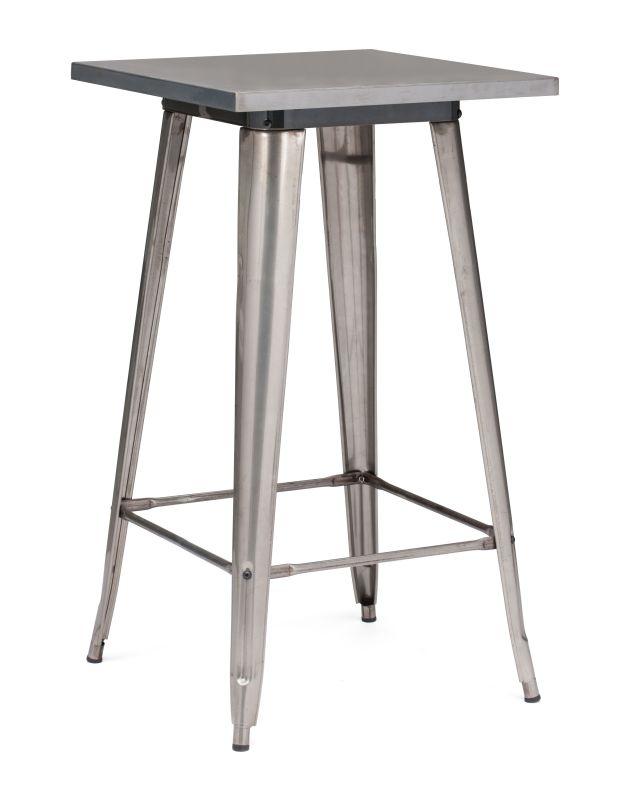 Zuo Modern Olympia Bar Table Olympia Bar Table Gunmetal Furniture Bar