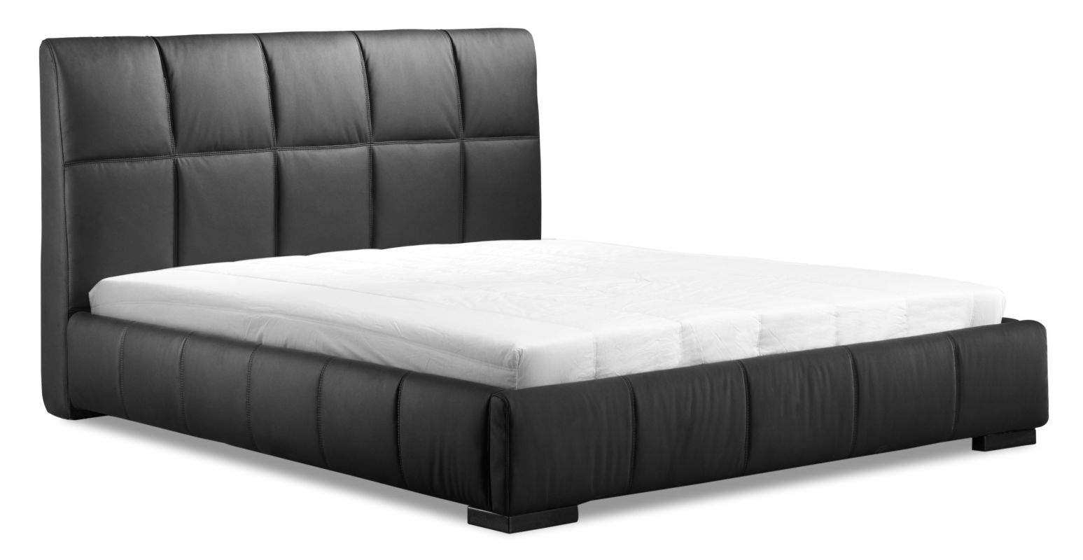 Zuo Modern Amelie Queen Bed Amelie Queen Bed Black Furniture
