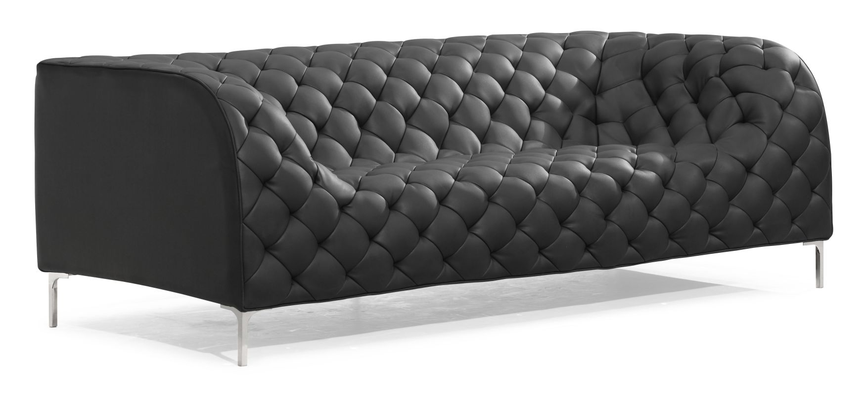 Zuo Modern Providence Sofa Providence Sofa Black Furniture Sofas