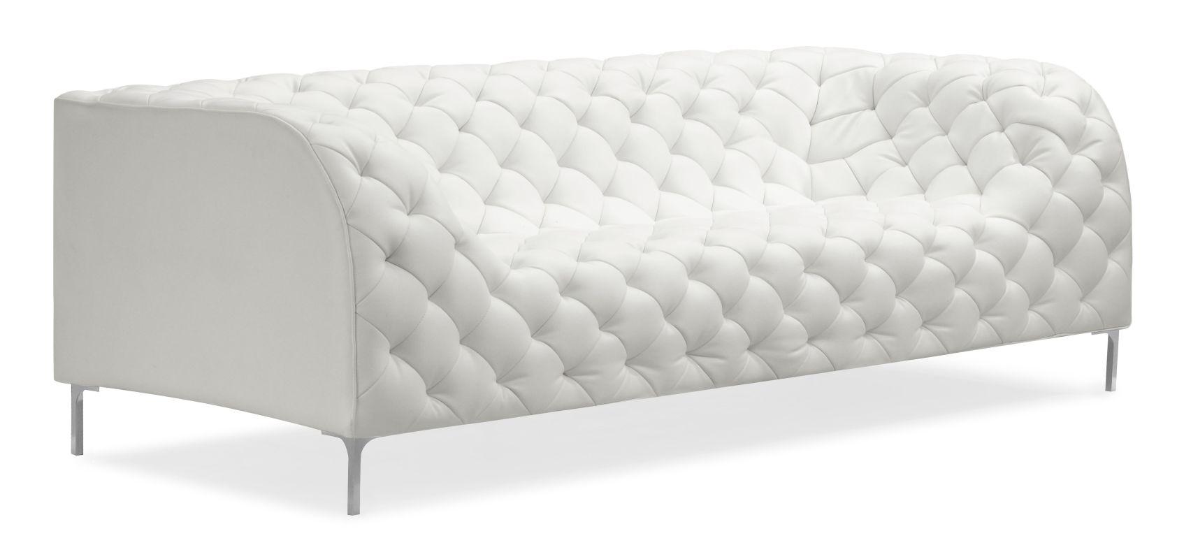 Zuo Modern Providence Sofa Providence Sofa White Furniture Sofas