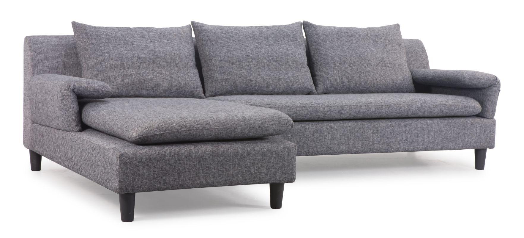Zuo Modern Axiom Sectional Axiom Sectional Ash Gray Furniture Sofas