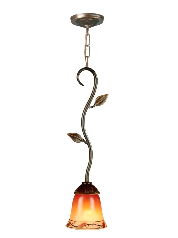 Dale Tiffany Th70545 Antique Bronze 5 5 Quot X 18 Quot Garden Leaf