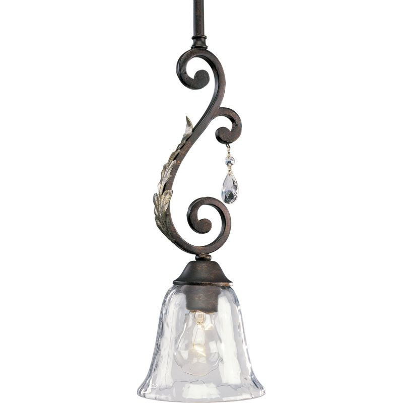 Thomasville lighting p5117 72 cognac savona 1 light mini for Thomasville lights