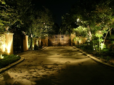 Artistic Landscape Lighting Example