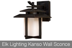 Elk Lighting Kanso Wall Sconce