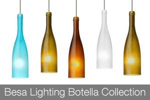 Besa Lighting Botella Collection