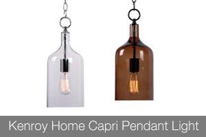 Kenroy Home Capri Pendant Light
