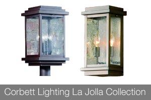 Corbett Lighting La Jolla Collection