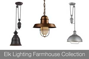 Elk Lighting Farmhouse Collection