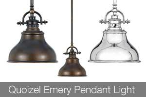 Quoizel Emery Pendant Light