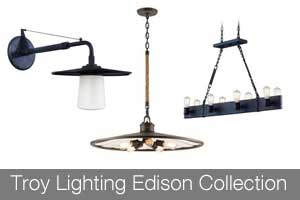 Troy Lighting Edison Collection